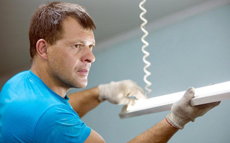 Como instalar uma l mpada tubular de led g20 for Instalar fluorescente led