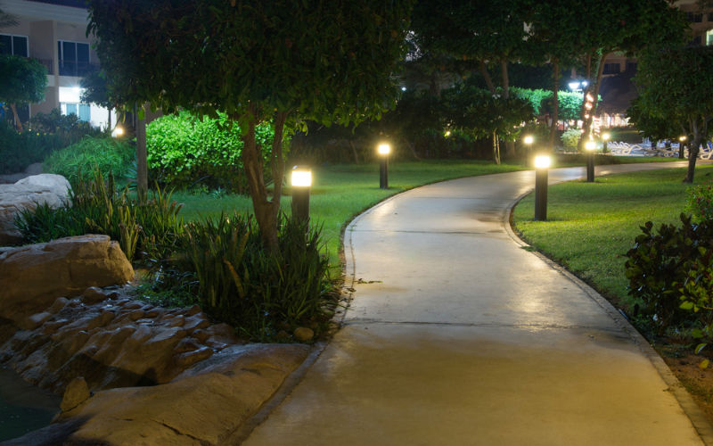 iluminacao noturna jardim ? Doitri.com